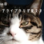 猫,メディアライブラリ,wordpress,